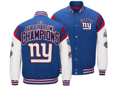 New York Giants G-III Sports NFL Men's Home Team Varsity Jacket
