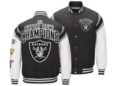 Oakland Raiders G-III Sports NFL Men's Home Team Varsity Jacket