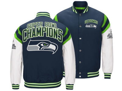 Seattle Seahawks G-III Sports NFL Men's Home Team Varsity Jacket