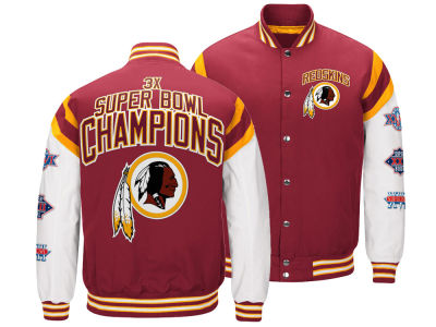 Washington Redskins G-III Sports NFL Men's Home Team Varsity Jacket