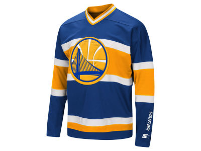 Golden State Warriors G-III Sports NBA Men's MVP Hockey Jersey