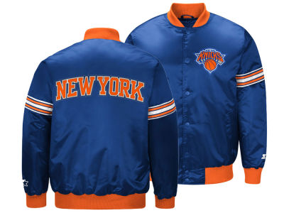 New York Knicks Starter NBA Men's Draft Pick Starter Satin Jacket