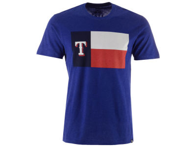 Texas Rangers '47 MLB Men's Club Logo T-Shirt