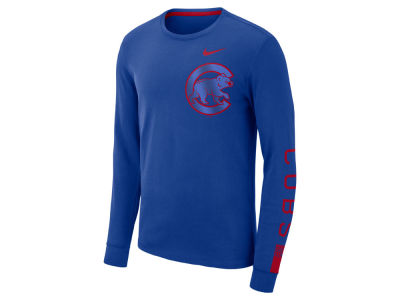 Chicago Cubs Nike MLB Men's Cotton Stadium Long Sleeve T-Shirt