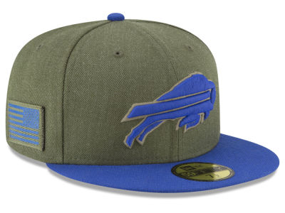 Buffalo Bills New Era 2018 NFL Salute To Service 59FIFTY Cap