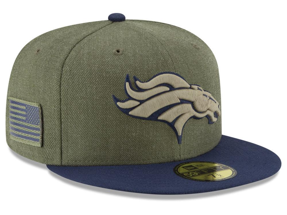 Denver Broncos New Era 2018 NFL Salute To Service 59FIFTY Cap   lids.com 054c224ec8