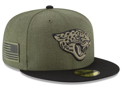 Jacksonville Jaguars New Era 2018 NFL Salute To Service 59FIFTY Cap