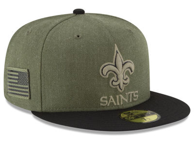 New Orleans Saints New Era 2018 NFL Salute To Service 59FIFTY Cap