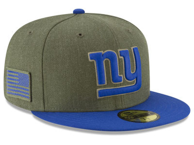 New York Giants New Era 2018 NFL Salute To Service 59FIFTY Cap
