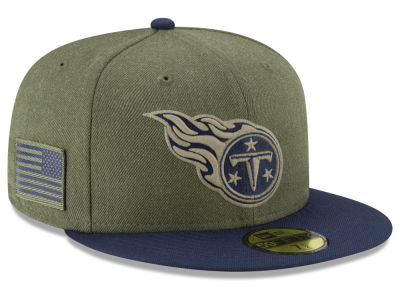 Tennessee Titans New Era 2018 NFL Salute To Service 59FIFTY Cap