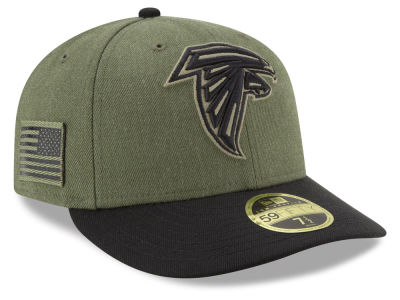 Atlanta Falcons New Era 2018 NFL Salute To Service Low Profile 59FIFTY Cap