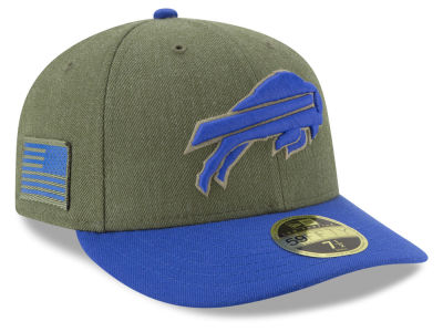 Buffalo Bills New Era 2018 NFL Salute To Service Low Profile 59FIFTY Cap