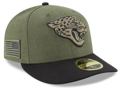 Jacksonville Jaguars New Era 2018 NFL Salute To Service Low Profile 59FIFTY Cap