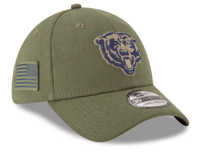 Chicago Bears New Era 2018 NFL Salute To Service 39THIRTY Cap