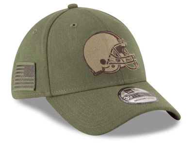 6439571102e42d ... amazon cleveland browns new era 2018 nfl salute to service 39thirty cap  9f7cf 2ea06