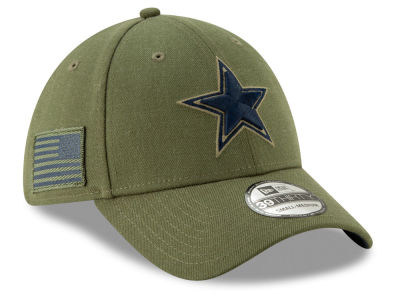 Dallas Cowboys New Era 2018 NFL Salute To Service 39THIRTY Cap
