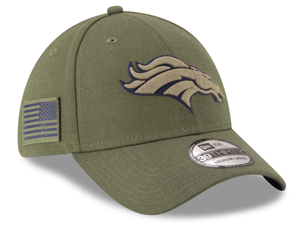 Denver Broncos New Era 2018 NFL Salute To Service 39THIRTY Cap ... 11216e8d93b4