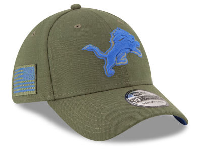 Detroit Lions New Era 2018 NFL Salute To Service 39THIRTY Cap
