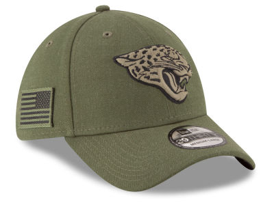 Jacksonville Jaguars New Era 2018 NFL Salute To Service 39THIRTY Cap