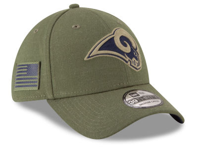 Los Angeles Rams New Era 2018 NFL Salute To Service 39THIRTY Cap