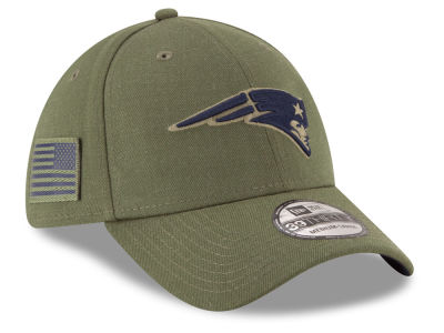 New England Patriots New Era 2018 NFL Salute To Service 39THIRTY Cap