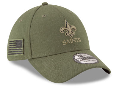 New Orleans Saints New Era 2018 NFL Salute To Service 39THIRTY Cap