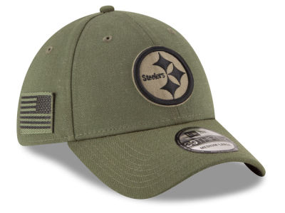 Pittsburgh Steelers New Era 2018 NFL Salute To Service 39THIRTY Cap