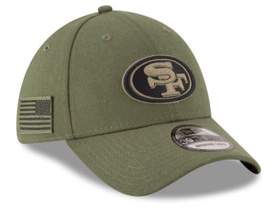 San Francisco 49ers New Era 2018 NFL Salute To Service 39THIRTY Cap