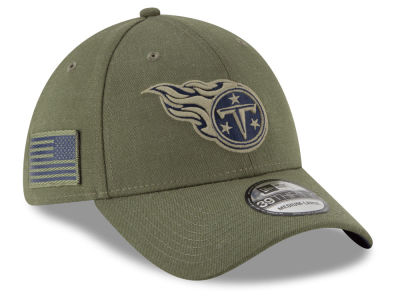 Tennessee Titans New Era 2018 NFL Salute To Service 39THIRTY Cap