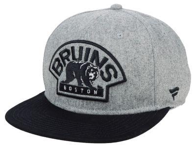 21fb22e00d8 Boston Bruins NHL NHL Heavy Heather Emblem Snapback Cap
