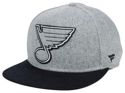 St. Louis Blues NHL Heavy Heather Emblem Snapback Cap
