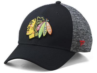 Chicago Blackhawks NHL NHL Heathered Team Flex Cap 079fb8bbcac