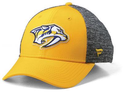 Nashville Predators NHL Branded NHL Heathered Team Flex Cap bfaa0d5cfe