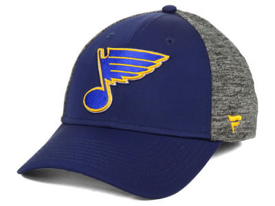 St. Louis Blues NHL Heathered Team Flex Cap