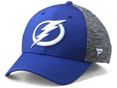Tampa Bay Lightning NHL Heathered Team Flex Cap