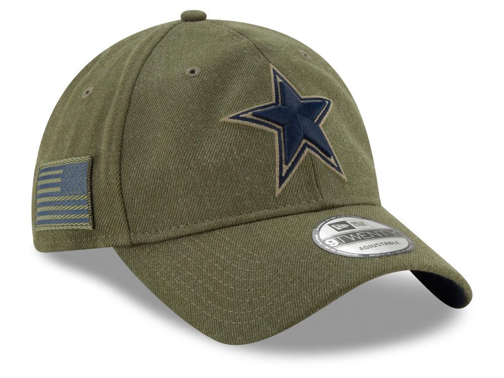 Dallas Cowboys New Era 2018 NFL Salute To Service 9TWENTY Cap  a20a869a7