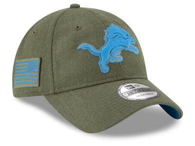 Detroit Lions New Era 2018 NFL Salute To Service 9TWENTY Cap