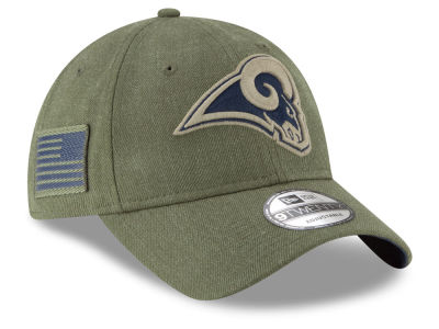 Los Angeles Rams New Era 2018 NFL Salute To Service 9TWENTY Cap