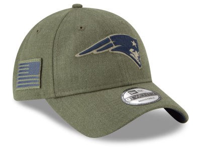 New England Patriots New Era 2018 NFL Salute To Service 9TWENTY Cap