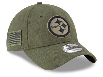 Pittsburgh Steelers New Era 2018 NFL Salute To Service 9TWENTY Cap