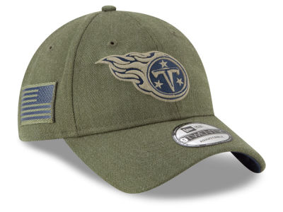 Tennessee Titans New Era 2018 NFL Salute To Service 9TWENTY Cap