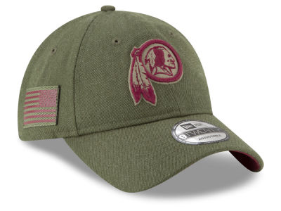 Washington Redskins New Era 2018 NFL Salute To Service 9TWENTY Cap