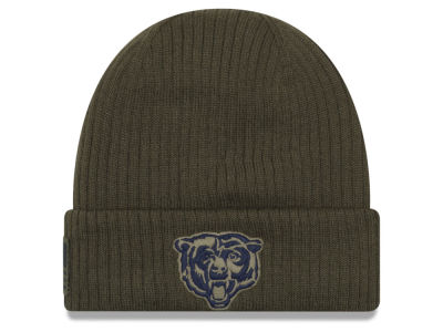 Chicago Bears New Era 2018 NFL Salute To Service Cuff Knit