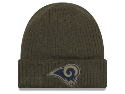 Los Angeles Rams New Era 2018 NFL Salute To Service Cuff Knit