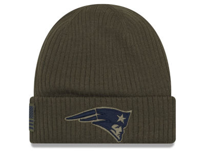 New England Patriots New Era 2018 NFL Salute To Service Cuff Knit
