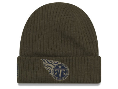 Tennessee Titans New Era 2018 NFL Salute To Service Cuff Knit