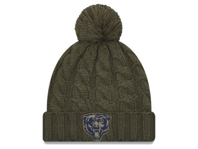 Chicago Bears New Era 2018 NFL Women's Salute To Service Pom Knit