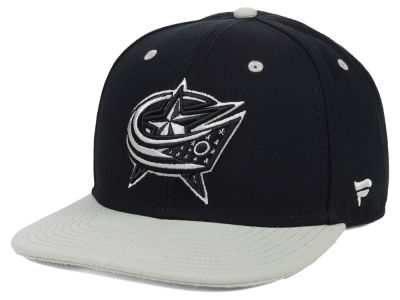 Columbus Blue Jackets NHL Blackout Emblem Snapback Cap