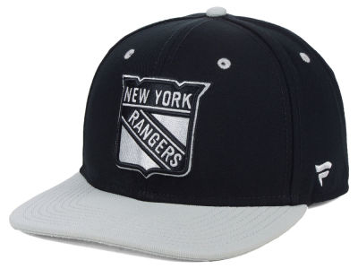 New York Rangers NHL Blackout Emblem Snapback Cap