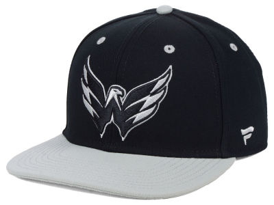 Washington Capitals NHL Blackout Emblem Snapback Cap